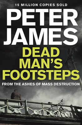 Book cover for Dead Man's Footsteps
